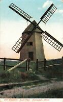 Postcard Windmill Nantucket Massachusetts