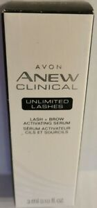 Avon Anew Clinical Unlimited Lashes Lash & Brow Activating Serum - NEW