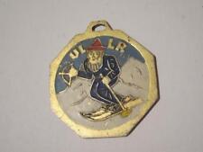 vintage antik Uller Ullr Schutz Patron aller Wintersportler Skifahrer Berggeist