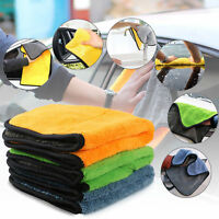 Super Absorbent Car Cleaning Towel Wiping Cloth Car Care Coral Velvet Microfiber
