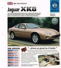 1996/1997 JAGUAR XK8/xk-8 IMP Folleto
