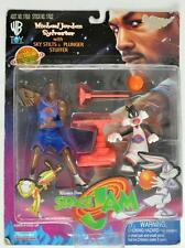 PLAYMATES WARNER BORTHERS SPACE JAM MICHAEL JORDAN AND SYLVESTER ACTION FIGURE