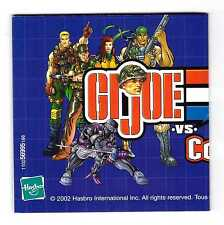 2002 GI G.I. JOE vs. COBRA EURO CATALOG - Older + modern logo cover - Hasbro