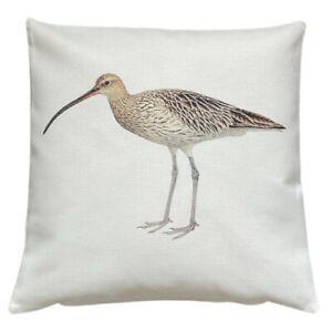 *SALE* Curlew - 40cm Ivory cushion cover coastal nautical