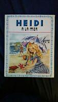 """Lot de 6 livres vintage """"Heidi"""" Editions Hemma Collection primevère de 1978"""