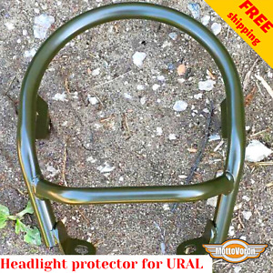 For URAL 750 Gear Up headlight protector Dnepr headlight guard cover Military