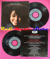 LP 45 7'' JANET JACKSON Escapade 1989 france A&M 190 490-7 no cd mc dvd