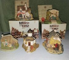 Lilliput Lane Hand Made Miniature Cottages Lot of 5