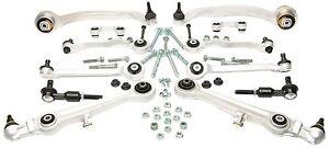 AUDI A4 A6 VW PASSAT CONTROL SUSPENSION ARM BALL JOINT KIT 13 PCS 8E0-498-998 (1