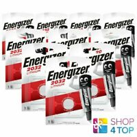 10 Energizer CR2032 Lithium Batteries 3V Coin Cell DL2032 Exp 2029 Neuf