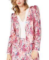 Rachel Rachel Roy Women's Jacket Pink Size 4 Arianna Sequin Floral $395 #531