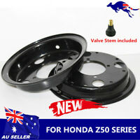 2pcs Black Motorcycle Wheel Rim for Honda Monkey Gorilla Z50A Z50 Z50J Z