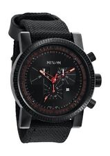 Nixon Genuine Leather Band Men's Wristwatches