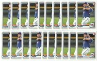 x17 NATE PEARSON 2020 Bowman #BP-124 Rookie Card RC lot/set Toronto Blue Jays!!!