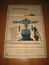 Drag Racer 1971 Original 1sh Movie Poster