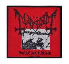 Mayhem Deathcrush Woven Patch Official Merchandise