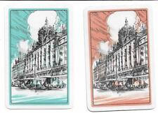 HARRODS DEPARTMENT STORE-LONDON X 2 ONLY  SGL.VINT.PLAYING/SWAPCARDS