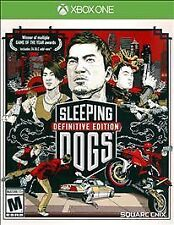 Sleeping Dogs Definitive Edition RE-SEALED Microsoft Xbox One 1 XB XB1 XB3 GAME