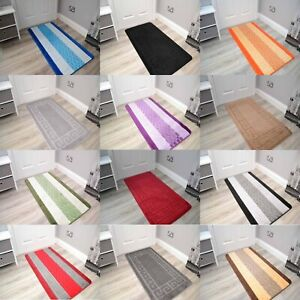 Small Large Long Short Machine Washable Rugs Hall Kitchen Bedroom Bathroom Cheap