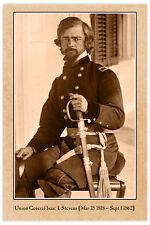 ISAAC STEVENS Union General  KIA Civil War Vintage Photograph Card CDV