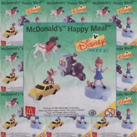 McDonalds Happy Meal Toy 1997 Oliver & Company Plastic Toys - Various Characters