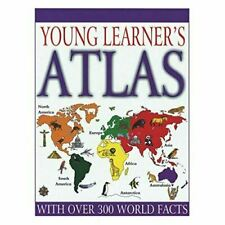 Young Learner Geography Atlas Kids Illustrated Hardback Education Spelling 946