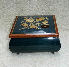 Vintage Swiss Lacquered Musical Box EXC. Cond