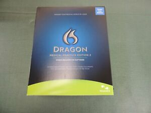 *NEW* Nuance Dragon MEDICAL PRACTICE Edition 2 Speech Recognition Software w Mic