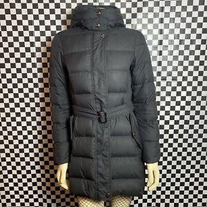 Burberry London Mid-Thigh Down Puffer Jacket Women's XS