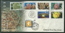 CORALS-OFFICIAL FIRST DAY COVER& EXTRA STAMP-LEAFLET, UNADDRESS, 2007.RARE. SU