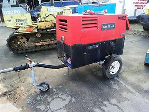 Genset GW400 DSL 400 FMP Welder Generator