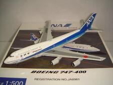 """Hogan 500 All Nippon Airways ANA B747-400D """"1990s color"""" NG 1:500"""