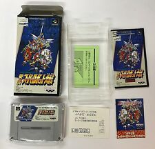 SUPER ROBOT WARS 3 NTSC-J SUPER NINTENDO JAP SUPER FAMICOM
