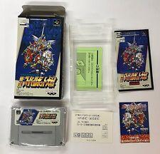 SUPER ROBOT WARS 3 NTSC-J SUPER NINTENDO JAP SUPER FAMICOM
