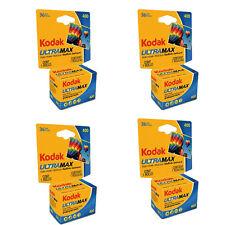 4 Rolls Kodak GC Ultramax 400 ISO 36 Exposure 35mm Color Film FRESH