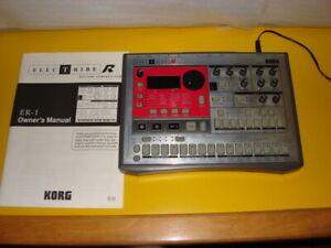 Korg Electribe ER1 A Analog Modeling Synthesizer ER 1 ER-1