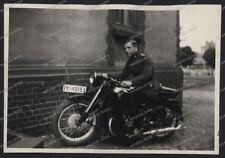 Polizei-Batalion-1939/40-Schutzmann-ordnungspolizei-Motorrad-Technik