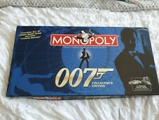 James Bond 007 Monopoly Board Family Game - Collectors Edition! VGC! Complete!