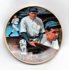 BABE RUTH 1988 4 INCH SPORTS IMPRESSIONS PLATE #241 OF 714, MINT W/ ORIGINAL BOX