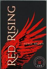 RED RISING Advance Reading Copy • Pierce Brown • Del Rey • 2014 • TP