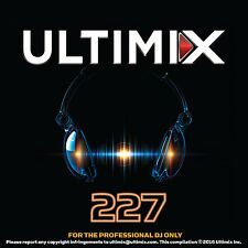 Ultimix 227 CD Ultimix Records Coldplay Strobe Sigala Beyonce´ One Direction