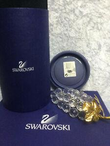 Swarovski Crystal Bunch of Grapes - 7509 150 070 / 011 864. Retired 2004. MIB