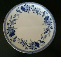 Antique 1880s   BISHOP & STONIER ENGLAND FLOW BLUE BISTO PLATE