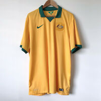 Authentic NIKE Australia Socceroos 2014-16 Home Jersey Size XXL Football Soccer