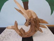 bois POISSON ESPADON plantagenholz figurine en décoration de jardin