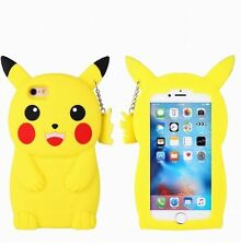 Apple IPhone 6 PLUS pikachu pokemon silicone case Uk seller fast dispatch