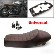 PU Leather Motorcycle Soft Sponge Seat Racing Bike Comfortable Hump Cushion Foam