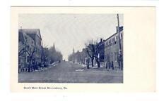 PA - SHREWSBURY PENNSYLVANIA UDB Postcard SOUTH MAIN STREET