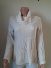 Style& Co Sweater women.Color Ivory. Pullover.  NEW. Knitted. Long sleeve. S9