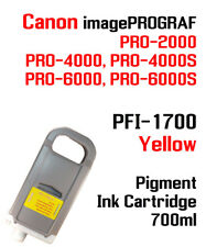 Pfi-1700 Yellow Canon imagePROGRAF Pro Compatible Ink Cartridge 700ml
